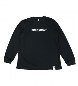 NINEHALFロゴ DRY L/S Tシャツ